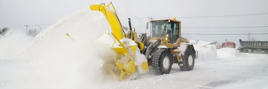 Souffleur à neige